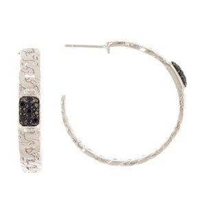 John Hardy Jewelry - John Hardy Sterling Silver Hoop Earrings